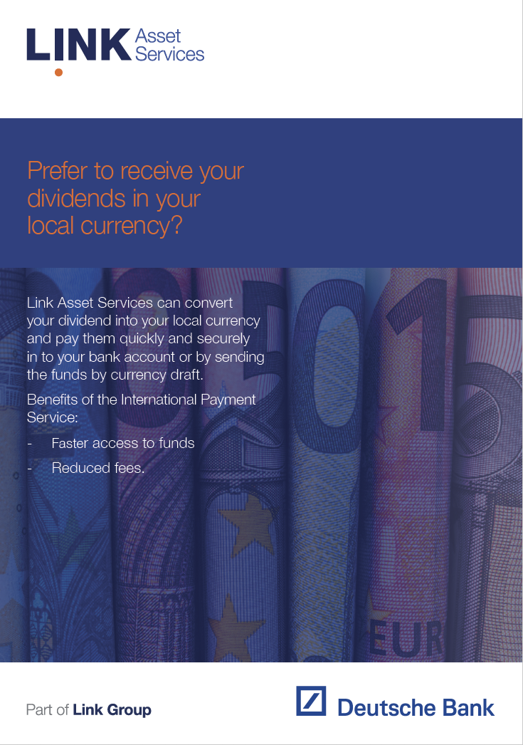 International Payment Services booklet